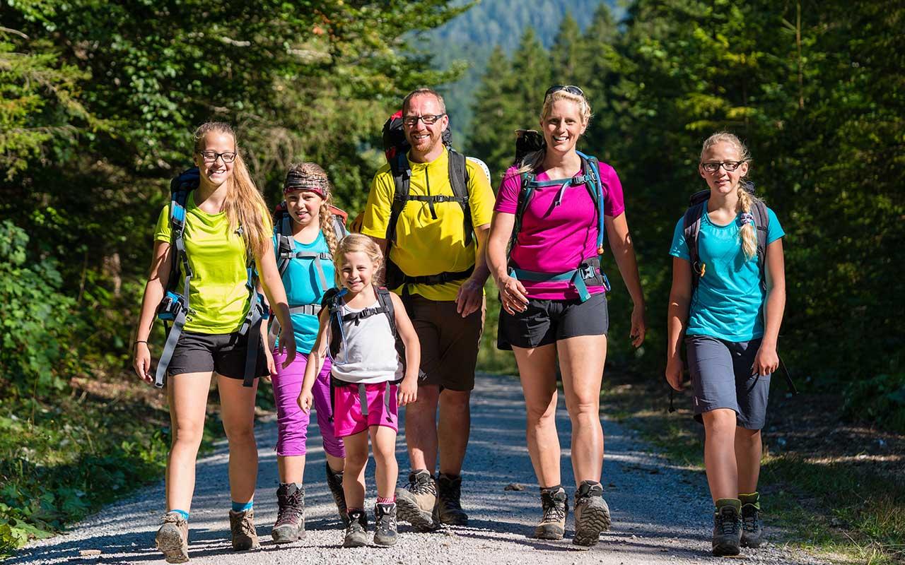 Familienurlaub Wanderungen