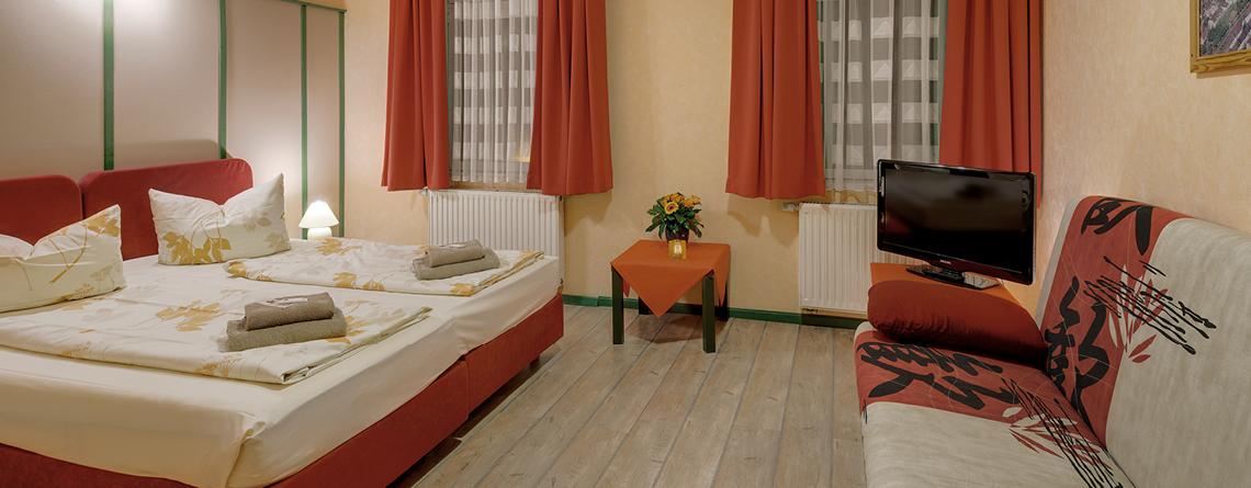 Pension Oberhof, Haus Saarland Zimmer