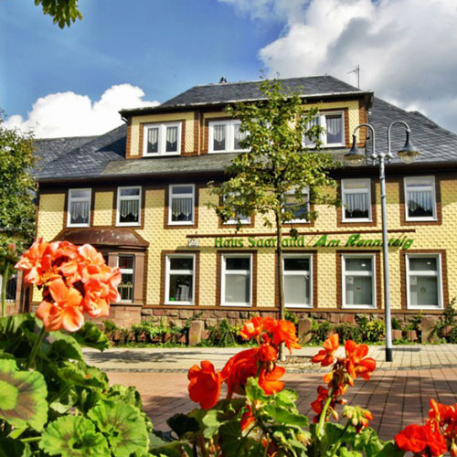 Pension in Oberhof, Haus Saarland