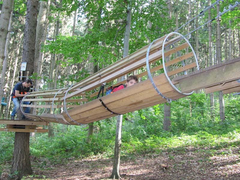 Kletterpark Tabarz   Ausflugstipp Pension Oberhof