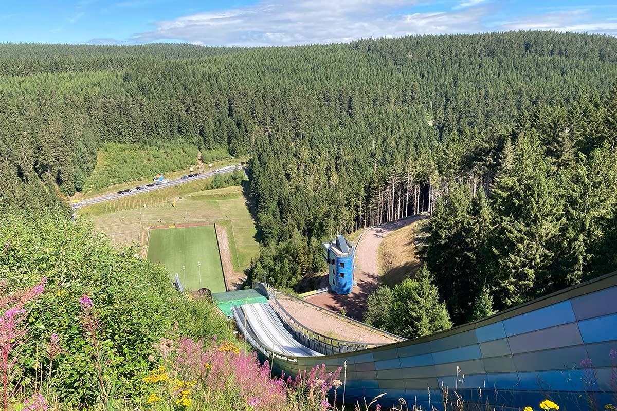 Skischanze am Kanzlersgrund Oberhof